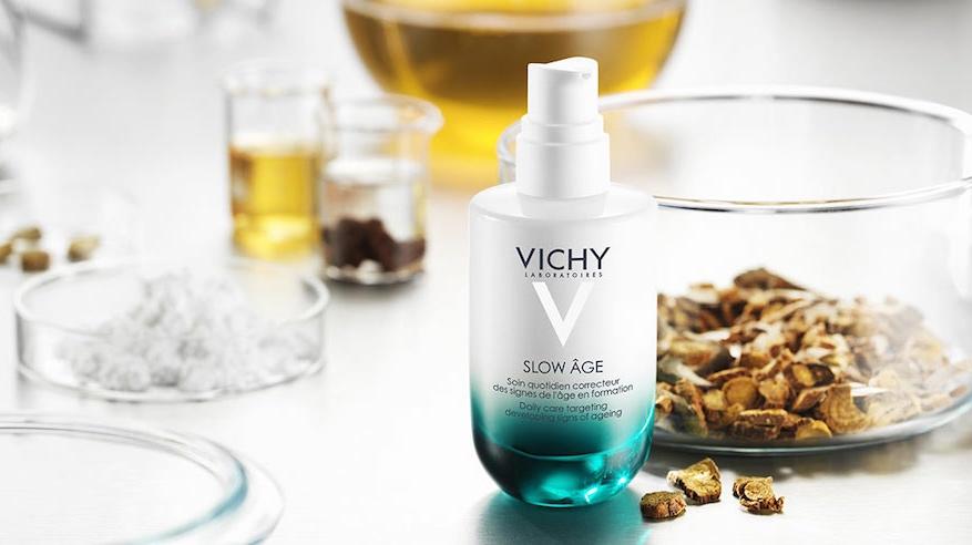 Vichy Slow Age természet ihlette összetevők