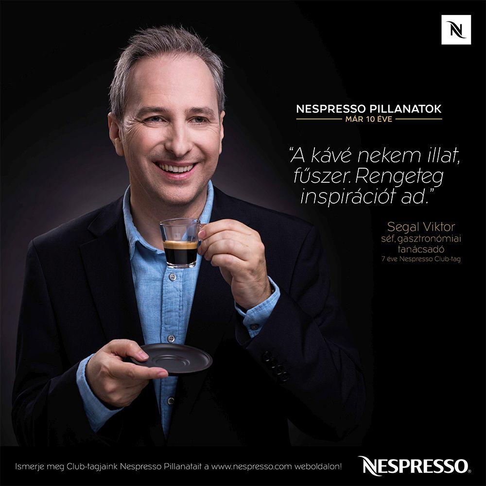 10 éves a Nespresso Magyarországon - Segal Viktor
