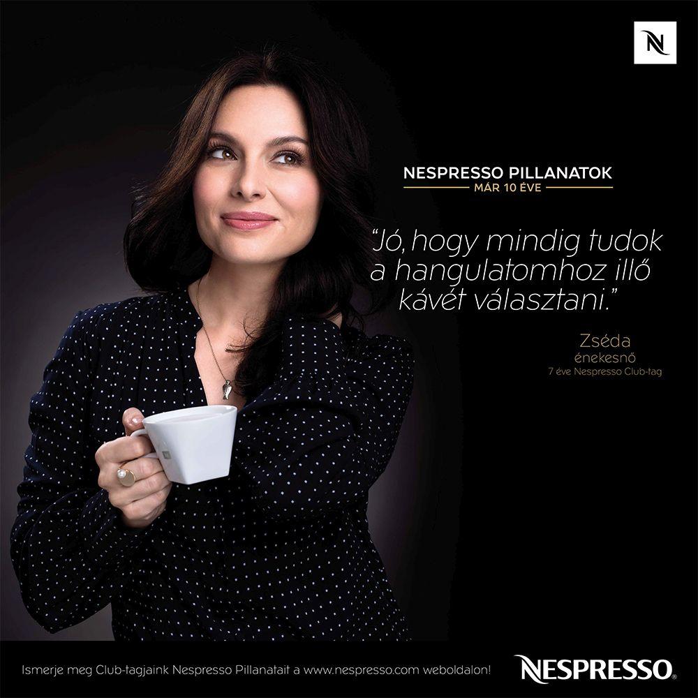 10 éves a Nespresso Magyarországon - Zséda