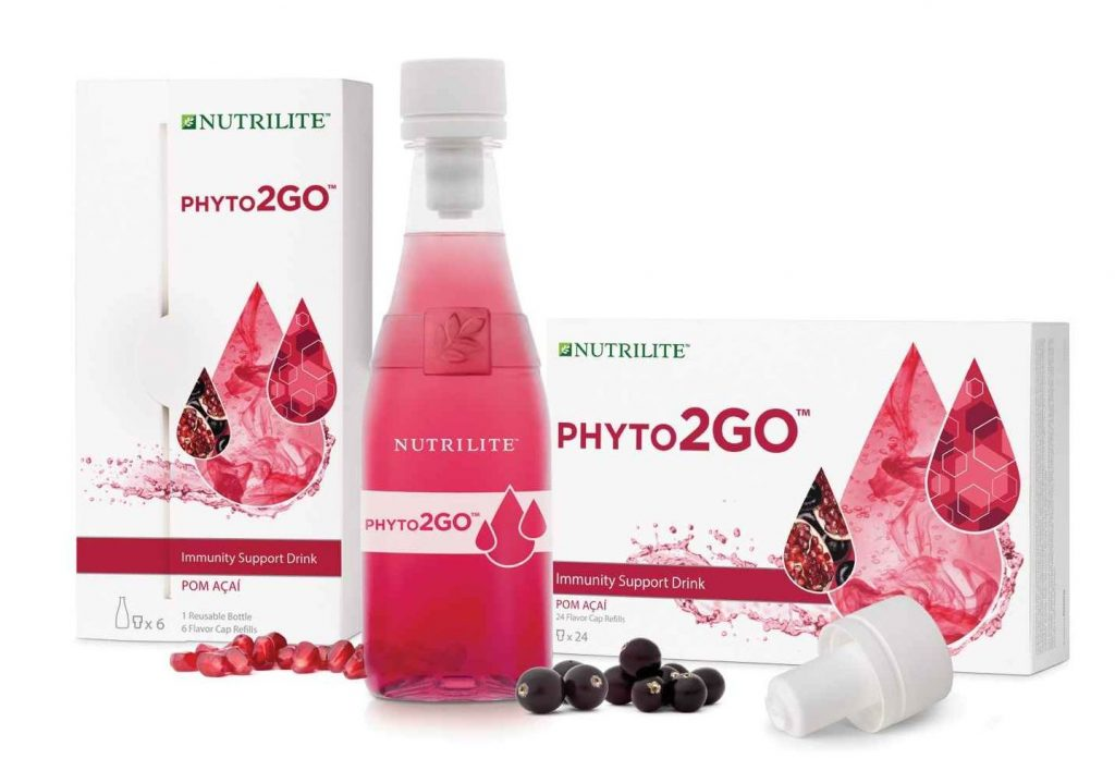 Nutrilite Phyto2Go immunerősítő vitamin ital