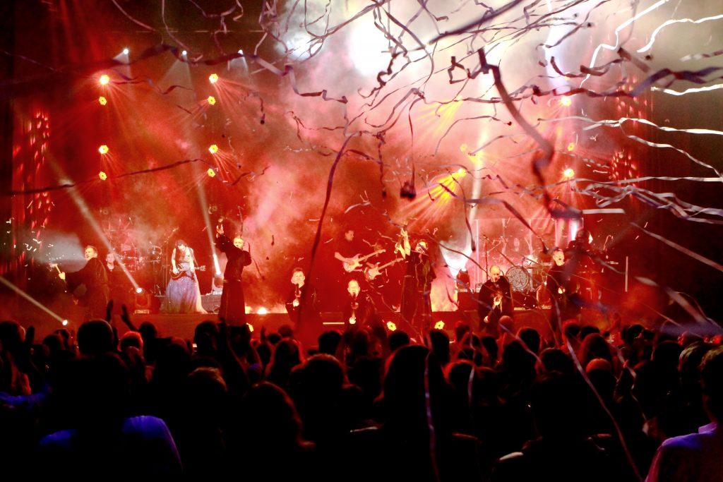 Gregorian koncert a Kongresszusi Központban, 2017. február 5.