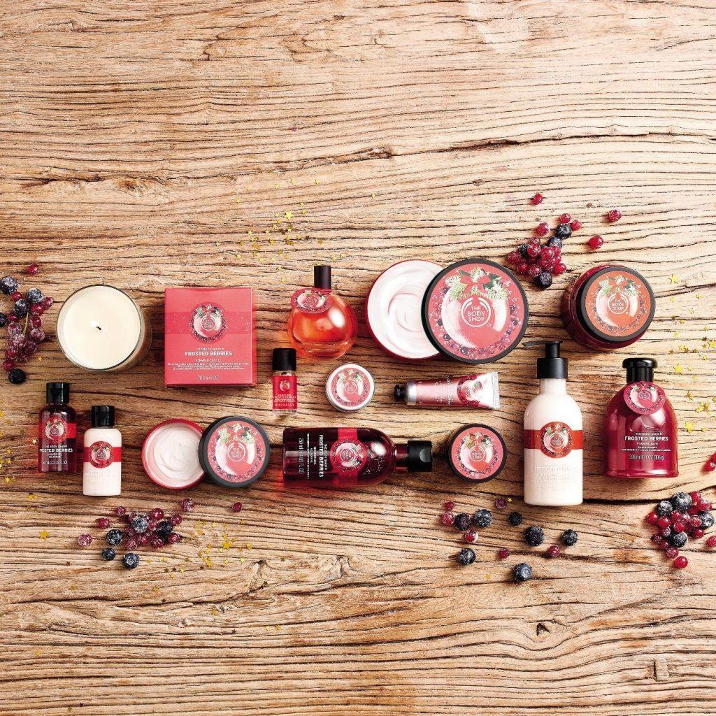 The Body Shop limitált karácsonyi kollekció