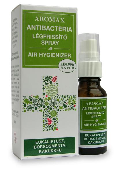Aromax antibacteria spray kollekció - fertőtlenítő, antibakteriális levegőillatosítók
