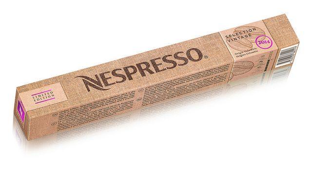 Nespresso Vintage Selection 2014 limitált kiadás, érlelt kávé