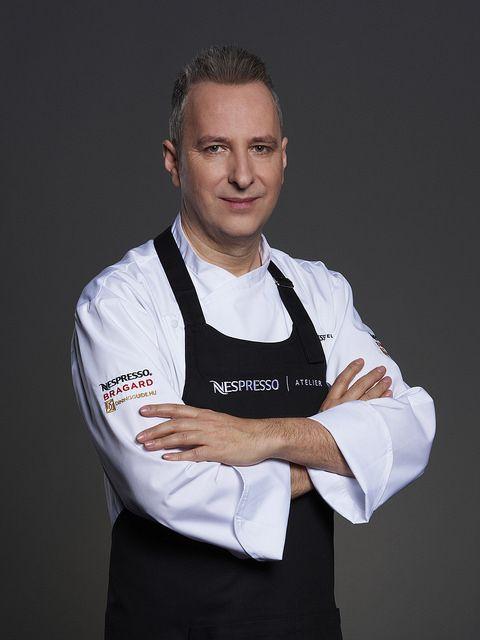 A Nespresso Atelier sztárséfje, Segal Viktor