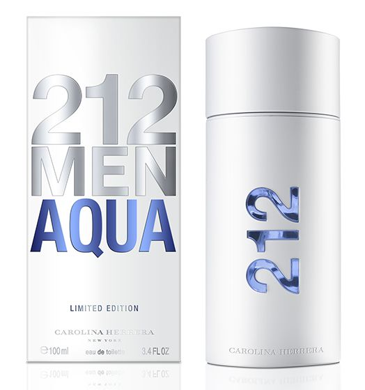 Carolina Herrera New York 212 Men Aqua limitált kiadás