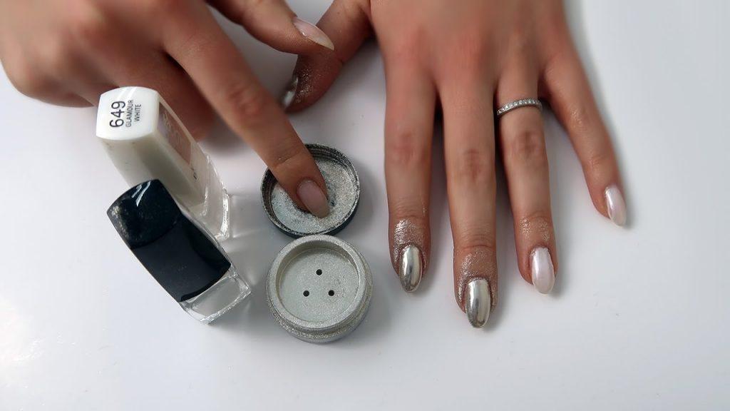 Idasora Chrome Nails krómhatású manikűr