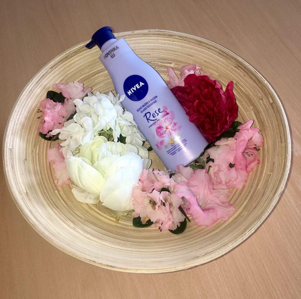 Nivea Olajos testápoló, Cseresznyevirág