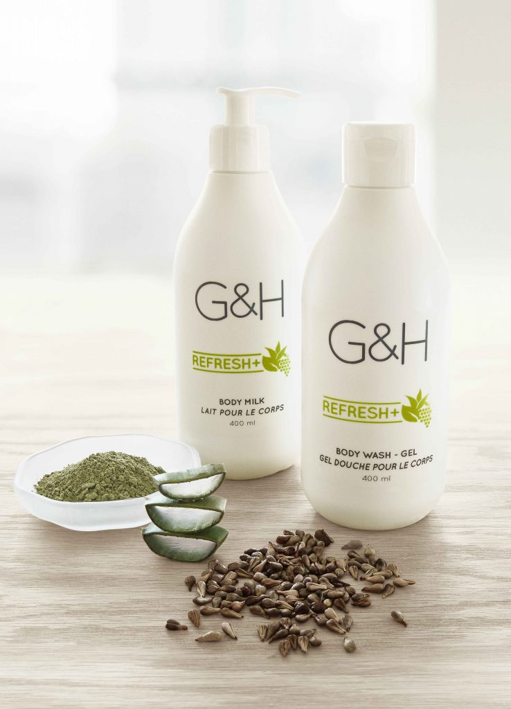 G&H Refresh Ingredients and Products