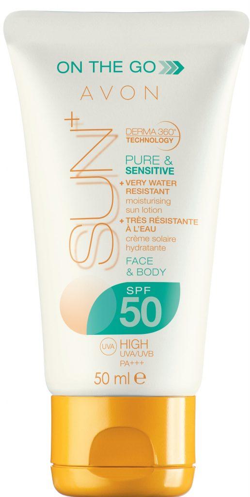 Avon Sun+ Pure and Sensitive