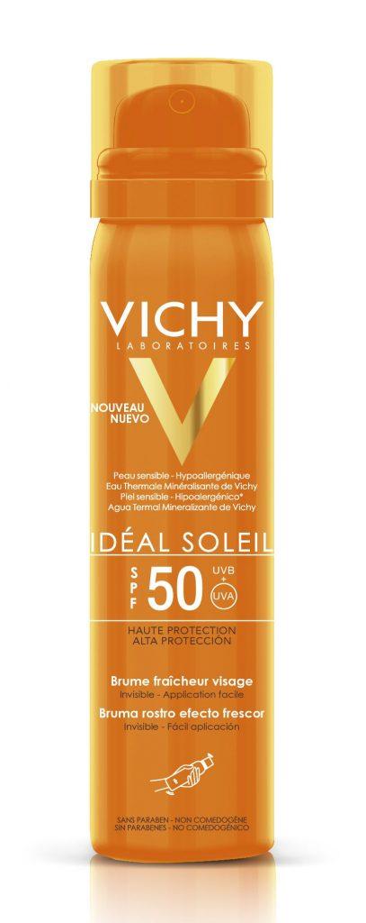 Vichy Ideal Soleil Frissítő Napvédő Arcpermet