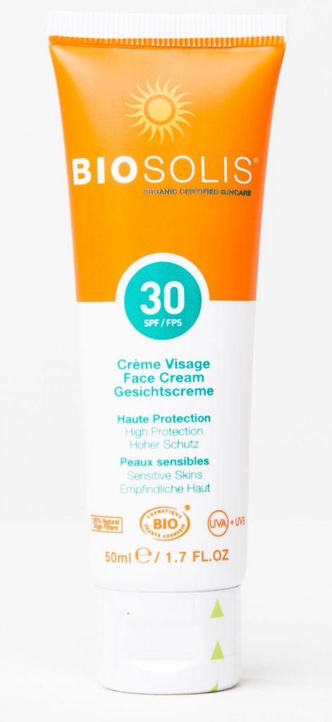 Biosolis Fényvédő Krém arcra SPF 30
