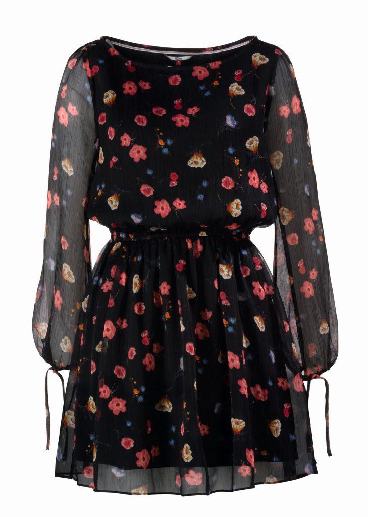 Hilfiger Denim virágmintás ruha