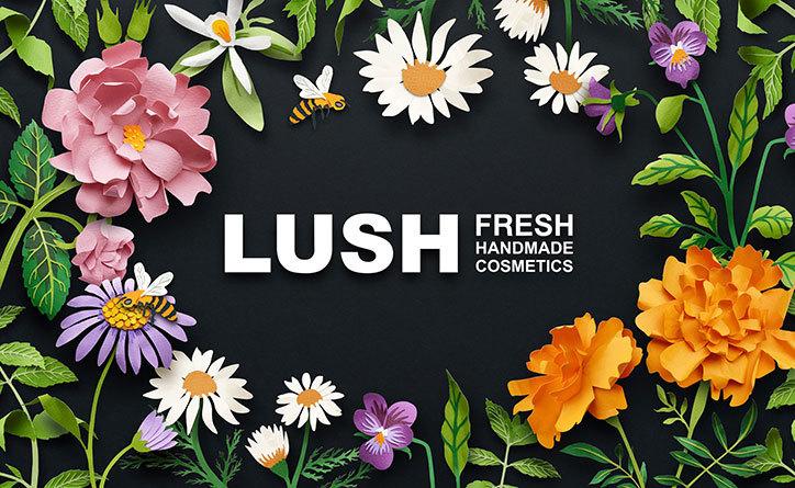Lush öntartósító kozmetikumok