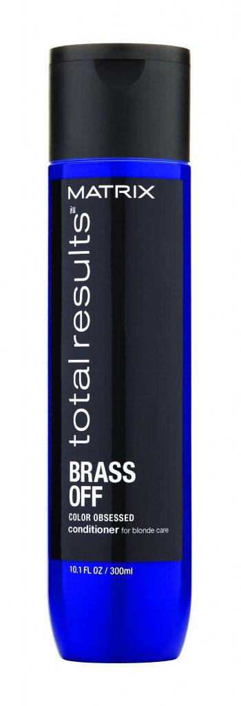 Matrix Brass Off szőke hajra, rezes tónusok ellen