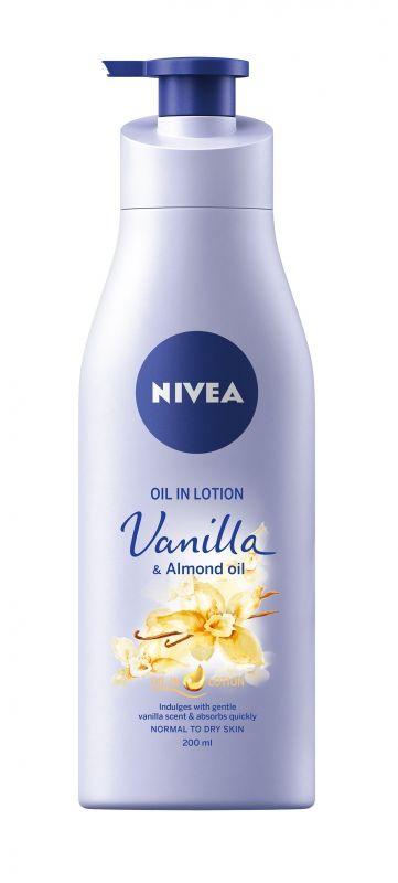 Nivea Vanília-Mandula Olajos testápoló