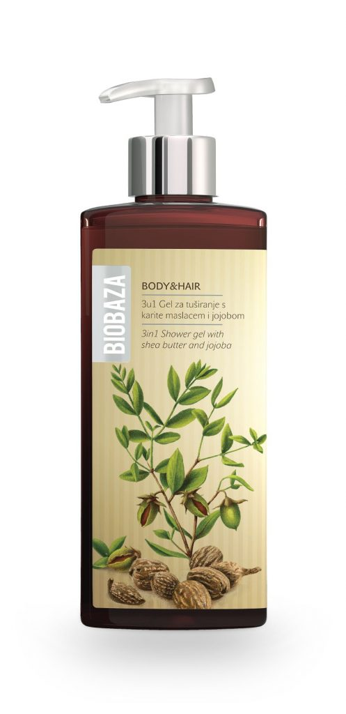 Biobaza Body & Hair 3in1 Shower gel