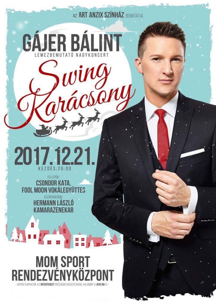 Gájer Bálint karácsonyi nagykoncert