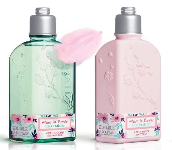 L'Occitane Fleurs de Cerisier eau fraiche, limitált tavaszi illat, rúzs és más