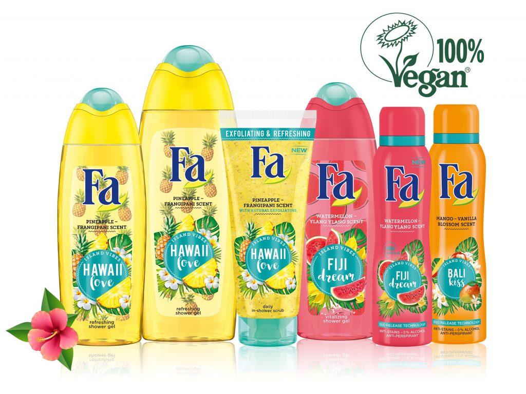 Fa Island Vibes vegán termékcsalád, rúzs és más