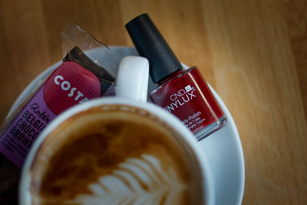 CND Nail Lounge, Bloodline, Costa Café, rúzs és más
