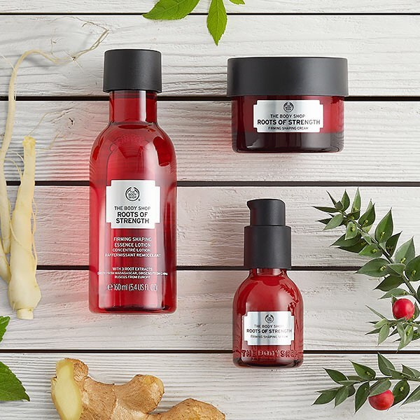 roots of strenghts, the body shop, rúzs és más