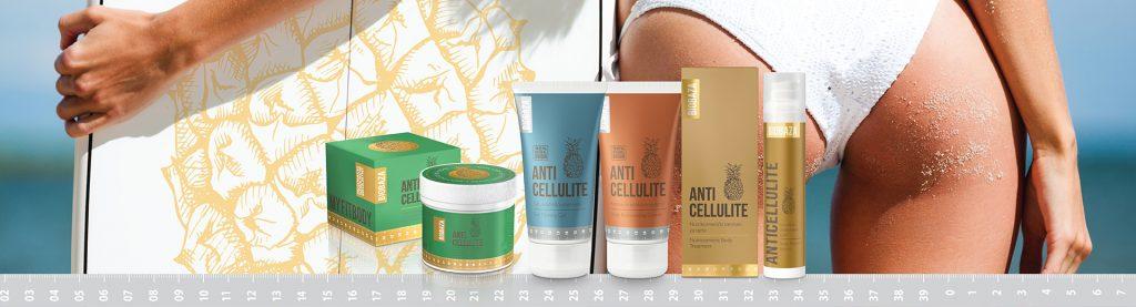 Biobaza Anticellulite termékcsalád, narancsbőr elleni testápolás, rúzs és más