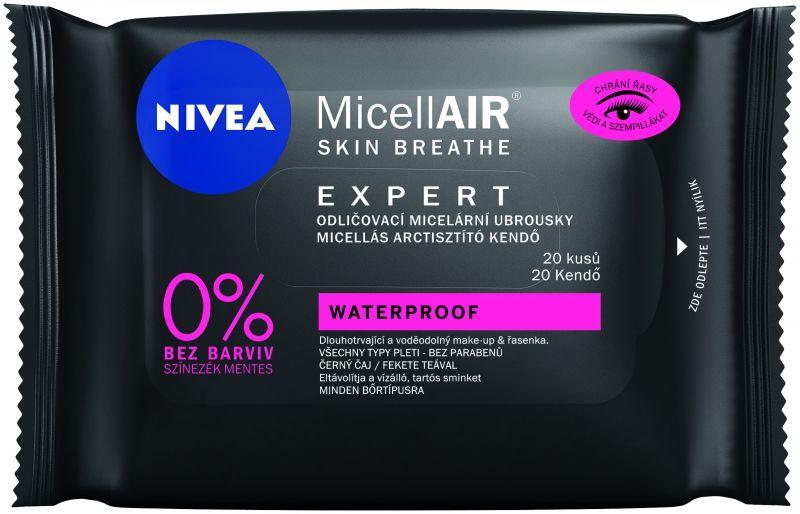 Nivea Micellair Expert tartős smink eltávolítók, micellás, rúzs és más