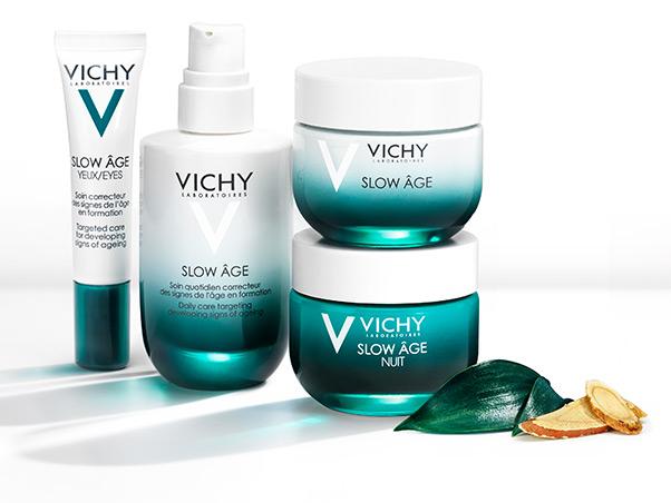 Vichy Slow Age éjszakai krém és maszk, rúzs és más