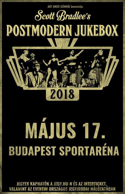 POstmoder Jukebox, koncert, Papp László Sportaréna, rúzs és más