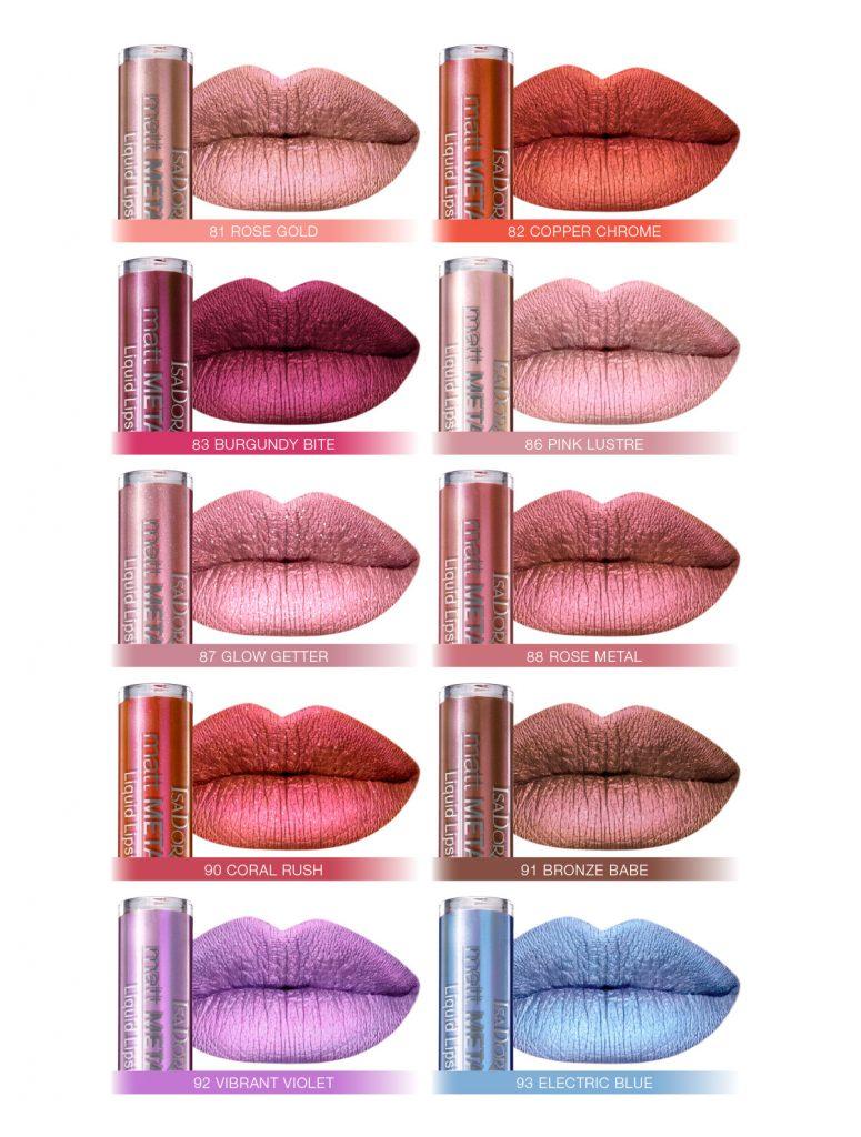 IsaDora Ultra Matt Liquid Lipstick, rúzs és más