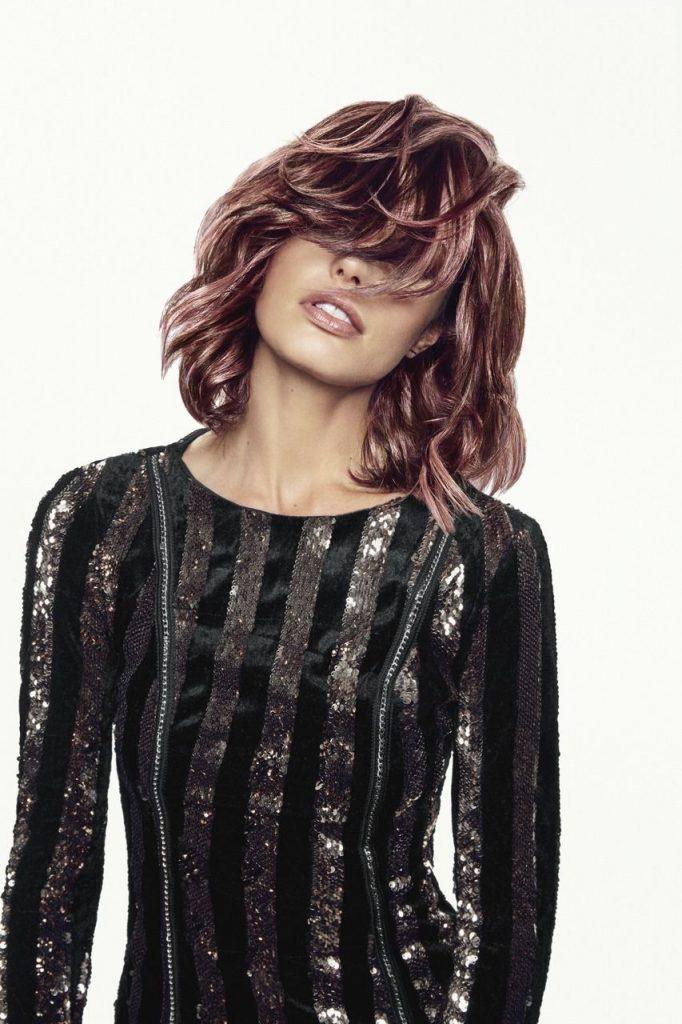 Metálos hajszínek, L'Oreal Professionnel, Shimmer Trend, rúzs és más