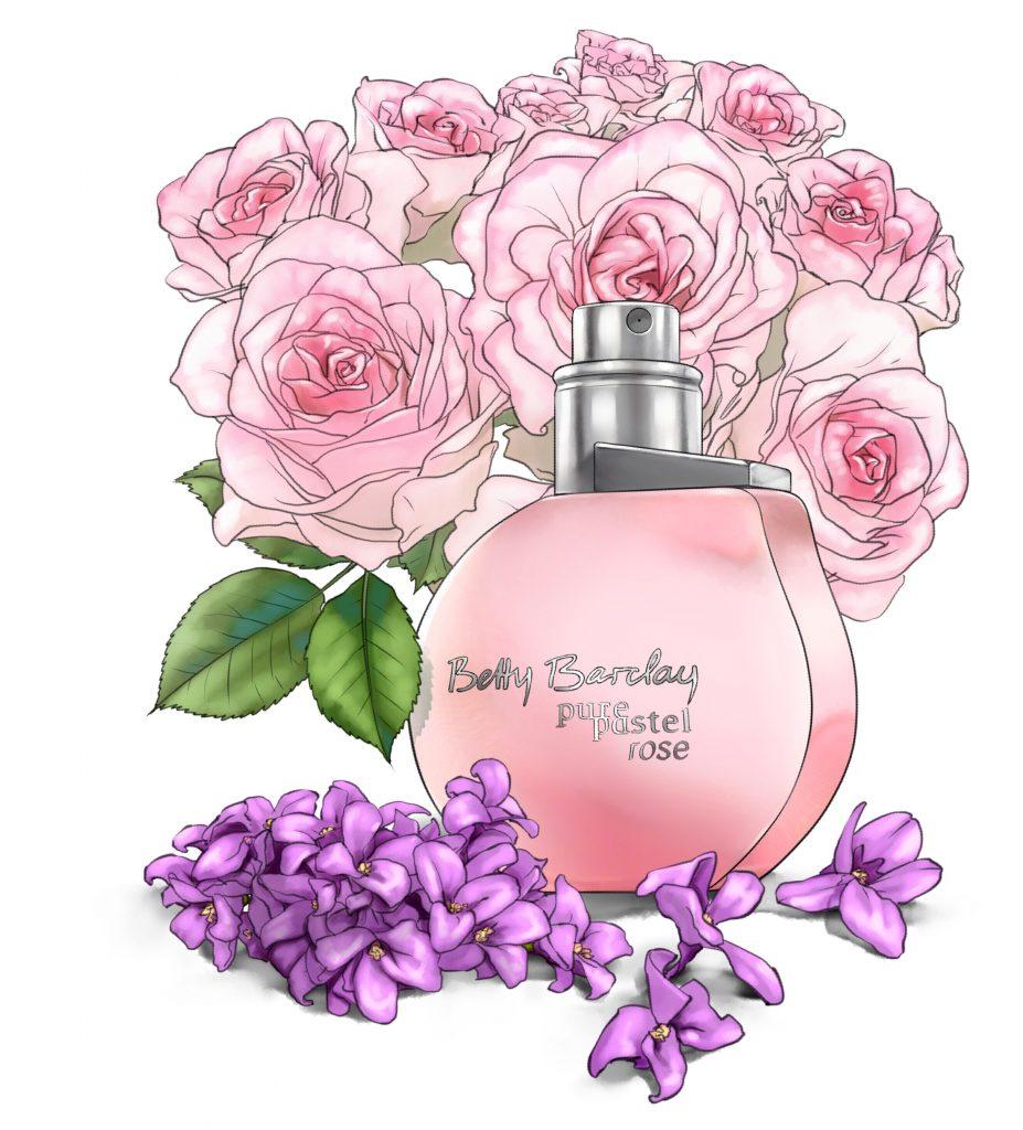 Betty Barclay pure pastel rose, peach, rúzs és más