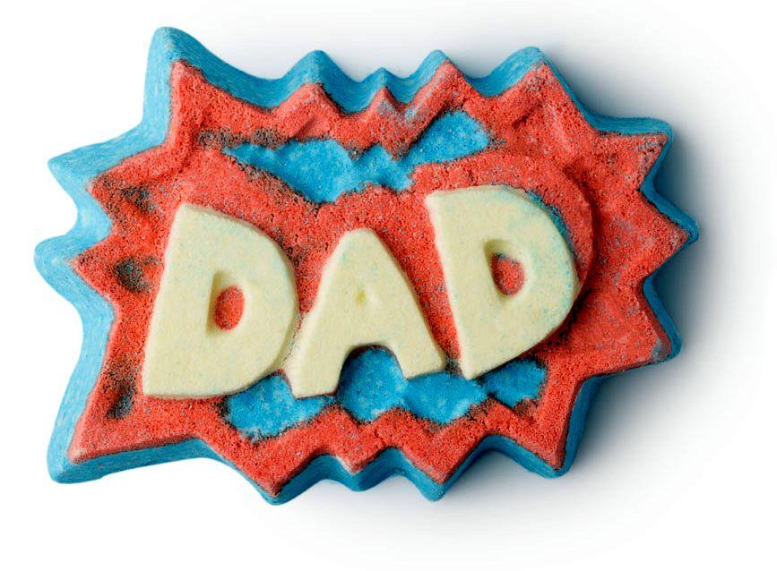 Lush, apák napja, férfiak, pucér kozmetikumok, rúzs és más
