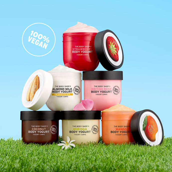 The Body Shop Body Yoghurt, rúzs és más