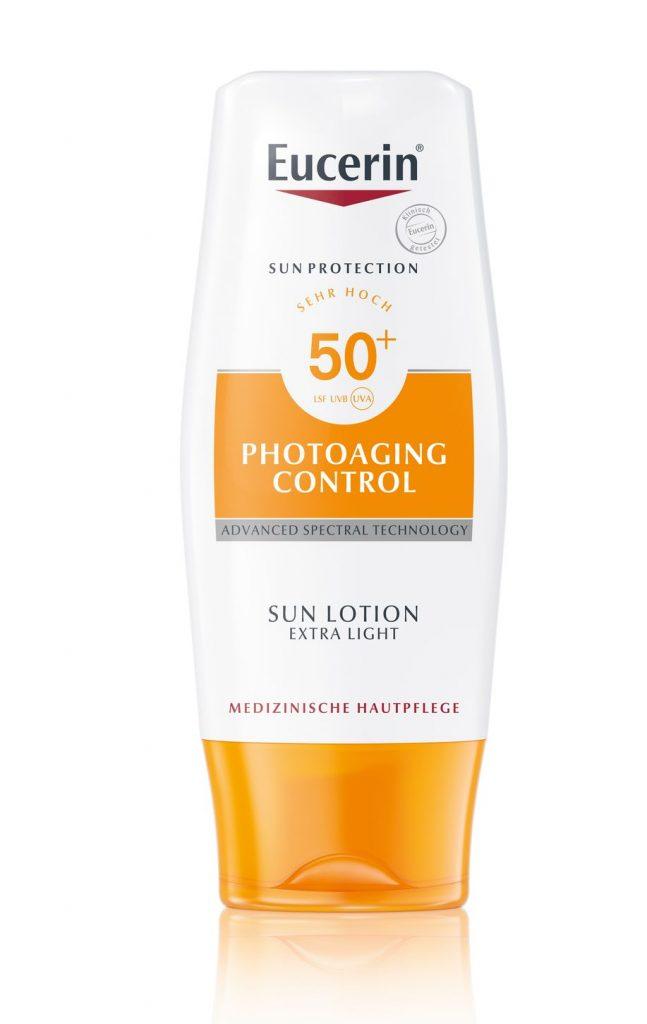 Eucerin Sun Photoaging Control fényvédő testre, rúzs és más