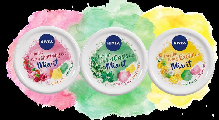 Mix me Nivea Soft, keverhető limitált illatos krémek, rúzs és más