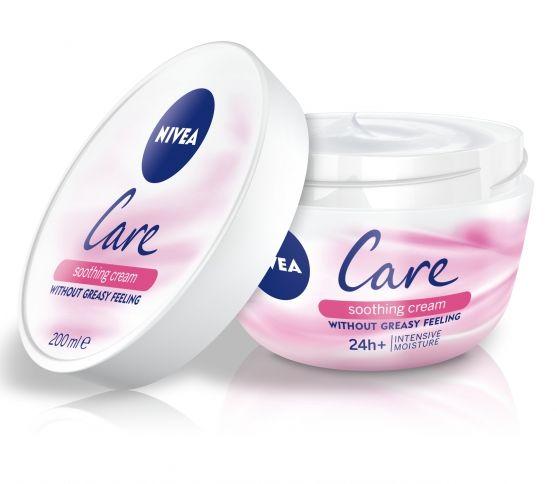 Nivea Care Bőrnyugtató krém, rúzs és más