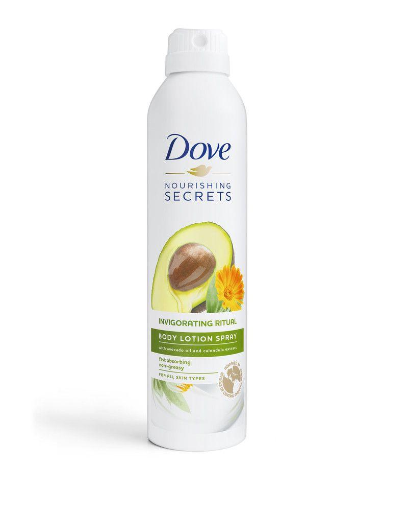 Dove Nourishing Secrets rituálék, testápoló spray, rúzs és más