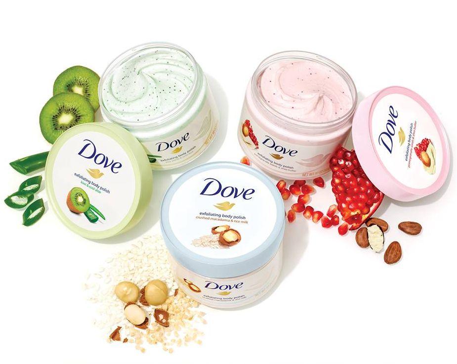Dove újdonságok a tiszta és ápolt bőrért, rúzs és más