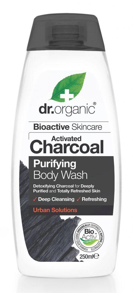Dr Organic tusfürdő aktív szénnel, rúzs és más