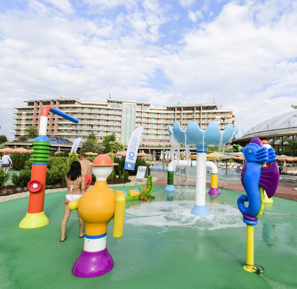 Aquaworld Resort, Aqua Spray Park, rúzs és más