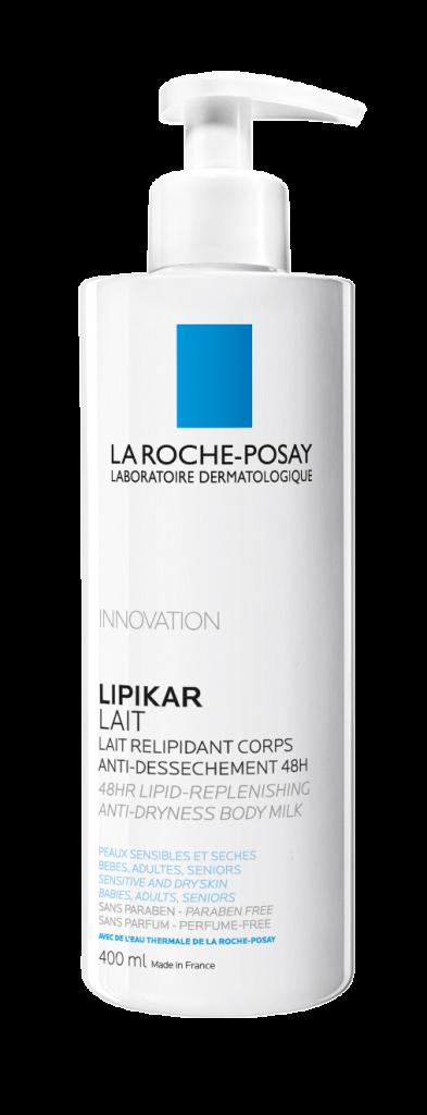 La Roche-POsay Lipikar Lait testápoló tej, rúzs és más