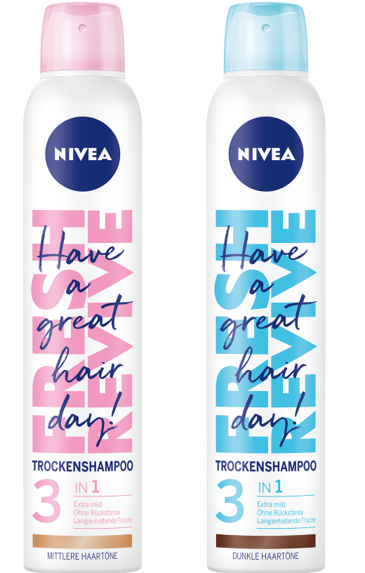 Nivea Fresh Revive szárazsampon, Nivea rúzs és más