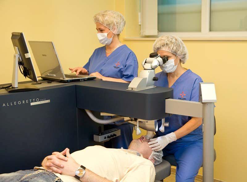 Lézeres szemműtét, éleslátás, rúzs és más