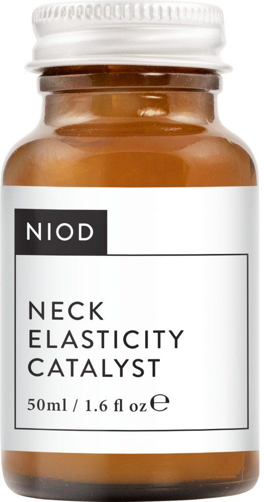 NIOD Neck Elasticity Catalyst, nyakfeszesítés, nyakápolás, anti-aging, rúzs és más