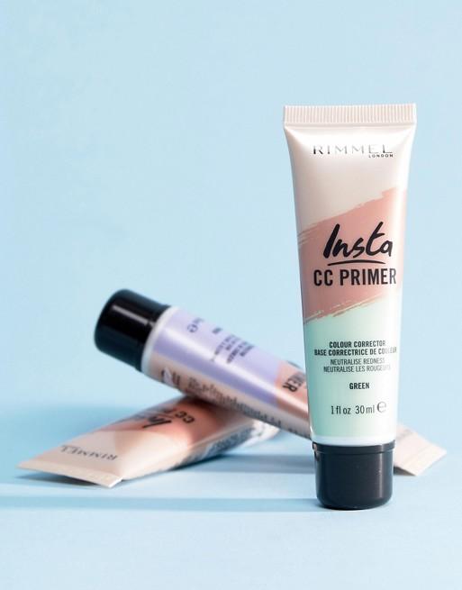 Rimmel INsta CC primer, rúzs és más, bőrszínkorrekció