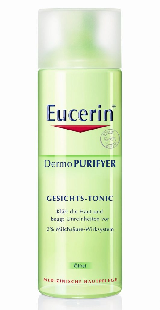 Eucerin Dermo Purifyer mélytisztító arctonik