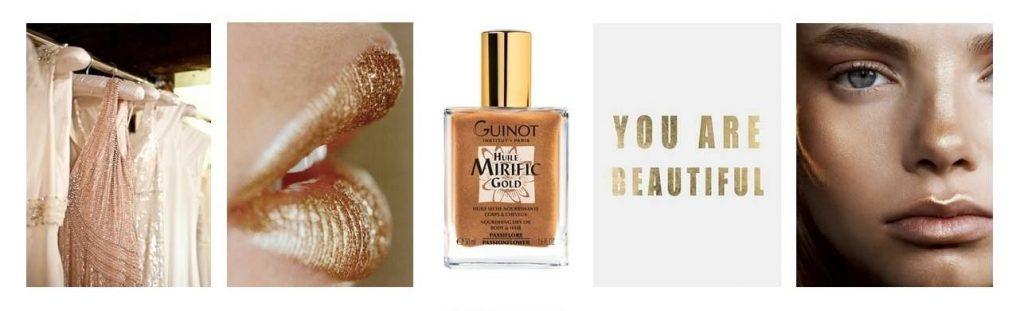 Guinot Mirific Gold Arany Selymes test-és hajolaj