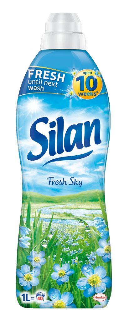 Új Silan öblítő 10 hétig tartó illattal